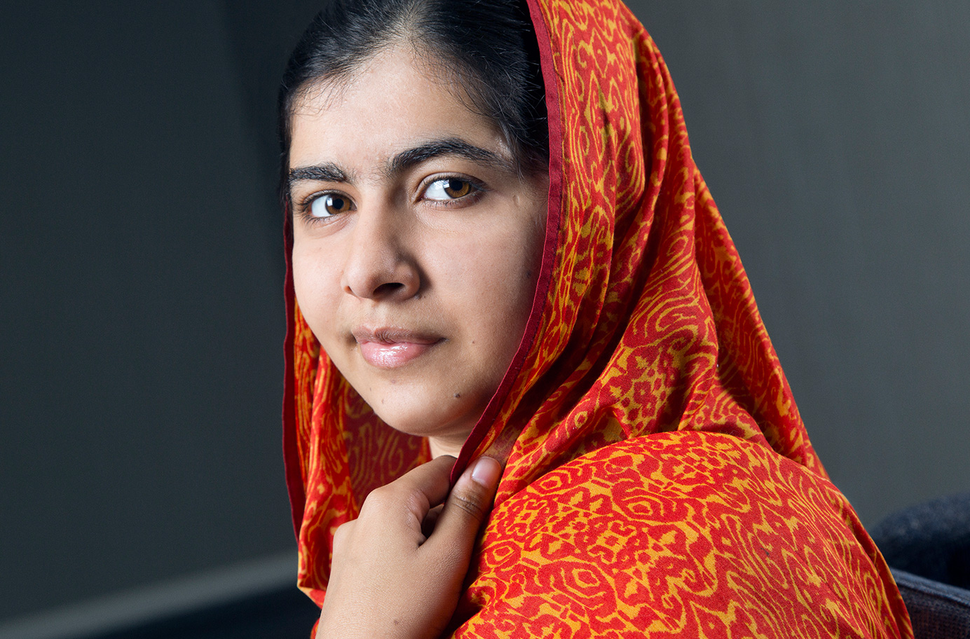 Peace Nobel Prize winner Malala is one of the heroines who were honored by the women's channel (Photo)